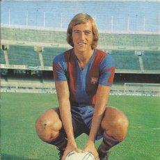 Colecionismo desportivo: AUTÓGRAFO, FIRMA ORIGINAL NEESKENS. PROGRAMA OFICIAL F. C. BARCELONA. ATLÉTICO DE MADRID. 1975.. Lote 221699007