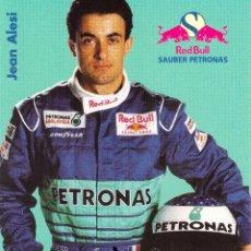 Coleccionismo deportivo: AUTÓGRAFO JEAN ALESI FORMULA 1. Lote 222528201