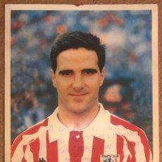 Coleccionismo deportivo: ANDER GARITANO (ATHLETIC CLUB DE BILBAO). FOTOGRAFÍA OFICIAL TEMPORADA 1993/94 CON AUTÓGRAFO.. Lote 225074648