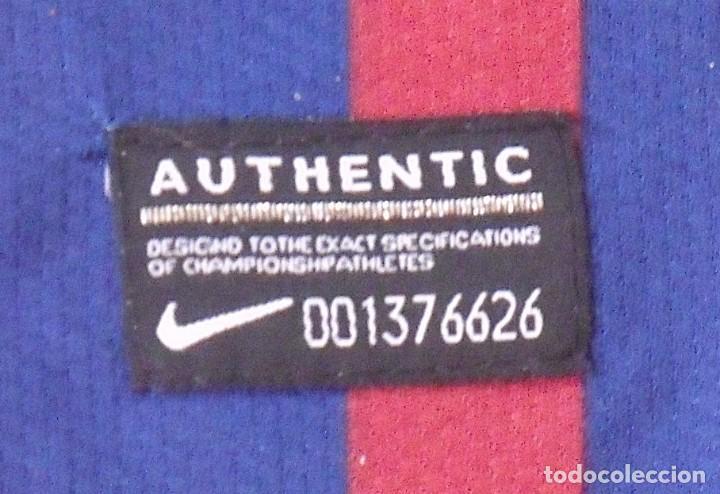 Coleccionismo deportivo: Camiseta F. C. Barcelona. Firma original, autógrafo Andrés Iniesta. Nike. Qatar Foundation. XL. - Foto 6 - 228455270