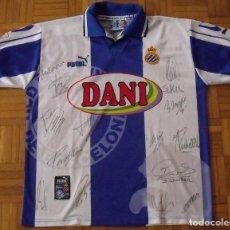 Coleccionismo deportivo: R.C.D. ESPANYOL. 1997-1998. 15 AUTÓGRAFOS, FIRMAS ORIGINALES. AUTOGRAPHS. PUMA. L. BUEN ESTADO.. Lote 230700585