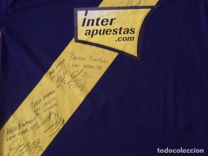 Coleccionismo deportivo: R.C.D. Espanyol. 2009-2010. 5 autógrafos, firmas originales. Dedicatoria. Autographs. Uhlsport. XL. - Foto 3 - 230701360