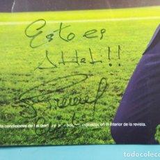 Coleccionismo deportivo: AUTOGRAFO DE DIEGO SIMEONE CHOLO EN REVISTA ORANGE DE AGOSTO 2020, ¡ESTO ES ATLETI!. Lote 236596885