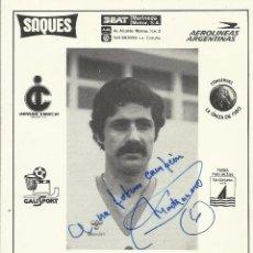 Coleccionismo deportivo: DANIEL MARTINAZZO. AUTÓGRAFO, FIRMA. HOCKEY PATINES. LICEO CAIXA GALICIA. 1982-83. CAMPEÓN LIGA.. Lote 237322390