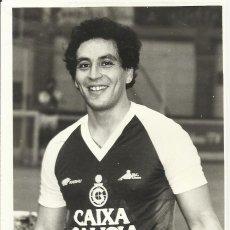 Coleccionismo deportivo: MARIO AGÜERO. AUTÓGRAFO, FIRMA. HOCKEY PATINES. LICEO CAIXA GALICIA. 1982-83. CAMPEÓN LIGA.. Lote 237322595