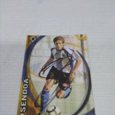 Coleccionismo deportivo: CROMO SENDOA - HÉRCULES.. Lote 237352255
