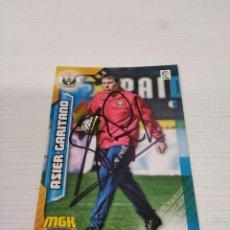 Coleccionismo deportivo: CROMO ASIER GARITANO - LEGANÉS.. Lote 237436115