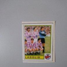 Coleccionismo deportivo: CROMO RECORTADO FUTBOL BASKET 85 PANINI. 319 PLANTILLA VALLADOLID DERECHA. Lote 237978845
