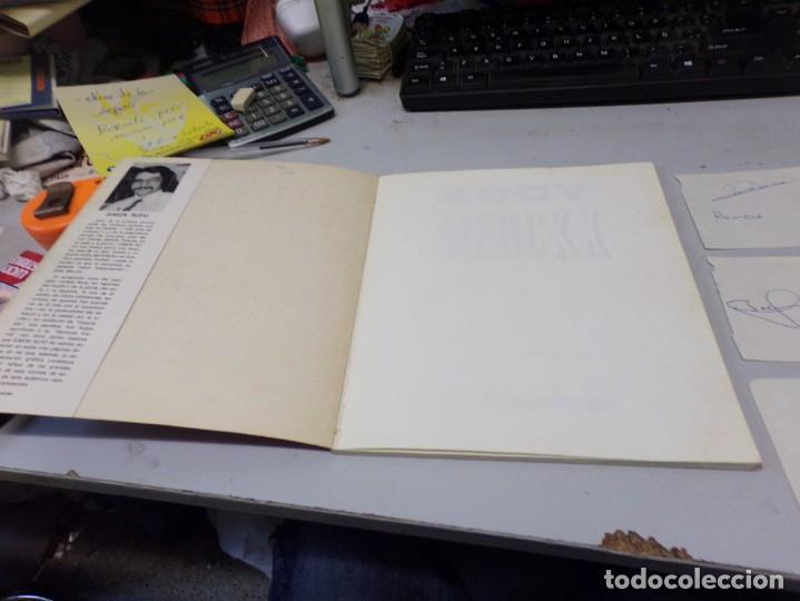 Coleccionismo deportivo: autografo eddy merckx y otros ciclistas ciclismo de la epoca con su libro tour de francia giro vuelt - Foto 3 - 242340760