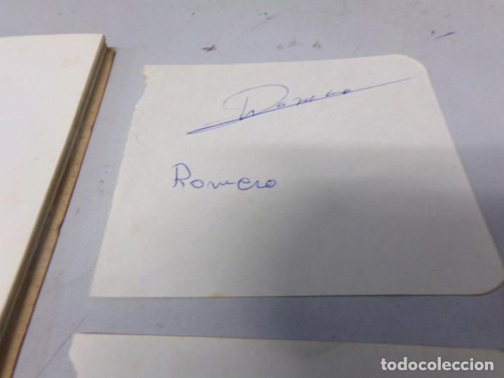 Coleccionismo deportivo: autografo eddy merckx y otros ciclistas ciclismo de la epoca con su libro tour de francia giro vuelt - Foto 6 - 242340760