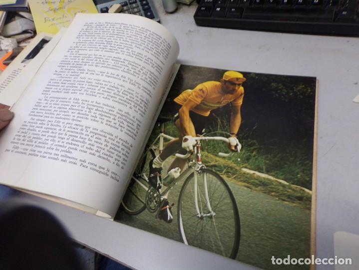 Coleccionismo deportivo: autografo eddy merckx y otros ciclistas ciclismo de la epoca con su libro tour de francia giro vuelt - Foto 12 - 242340760
