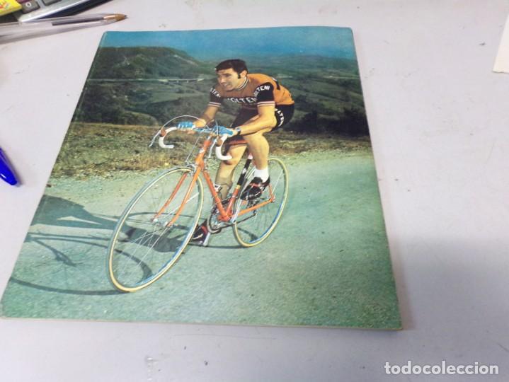 Coleccionismo deportivo: autografo eddy merckx y otros ciclistas ciclismo de la epoca con su libro tour de francia giro vuelt - Foto 14 - 242340760