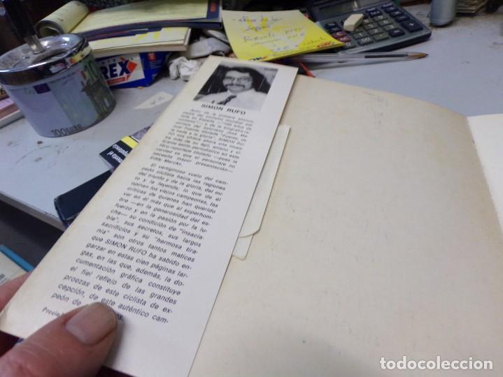 Coleccionismo deportivo: autografo eddy merckx y otros ciclistas ciclismo de la epoca con su libro tour de francia giro vuelt - Foto 17 - 242340760