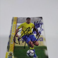 Coleccionismo deportivo: CROMO DAVID GARCÍA - LAS PALMAS.. Lote 243122200