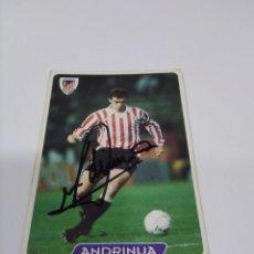 Coleccionismo deportivo: CROMO ANDRINUA - ATHLETIC CLUB.. Lote 243123780