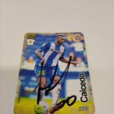 Coleccionismo deportivo: CROMO CAICEDO - ESPANYOL.. Lote 243124015
