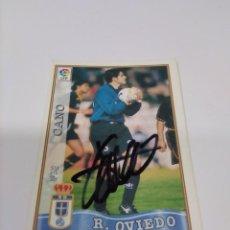 Coleccionismo deportivo: CROMO CANO - OVIEDO.. Lote 243124970