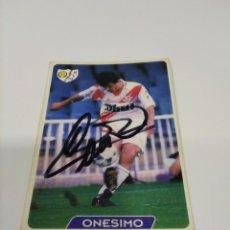 Coleccionismo deportivo: CROMO ONESIMO - RAYO VALLECANO.. Lote 243614420