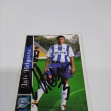 Coleccionismo deportivo: CROMO LUIS HELGUERA - ALAVÉS.. Lote 243614880