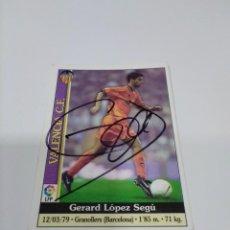 Coleccionismo deportivo: CROMO GERARD - VALENCIA.. Lote 243616635