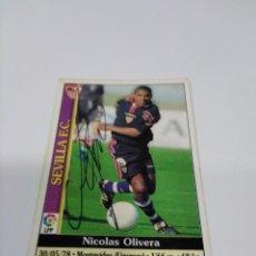 Coleccionismo deportivo: CROMO OLIVERA - SEVILLA.. Lote 243619405