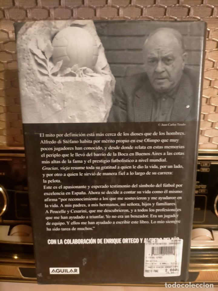 Coleccionismo deportivo: ALFREDO DI STÉFANO BOOK HAND SIGNED AUTOGRAPH REAL MADRID ORIGINAL AUTOGRAFO FIRMADO A MANO - Foto 11 - 244410145