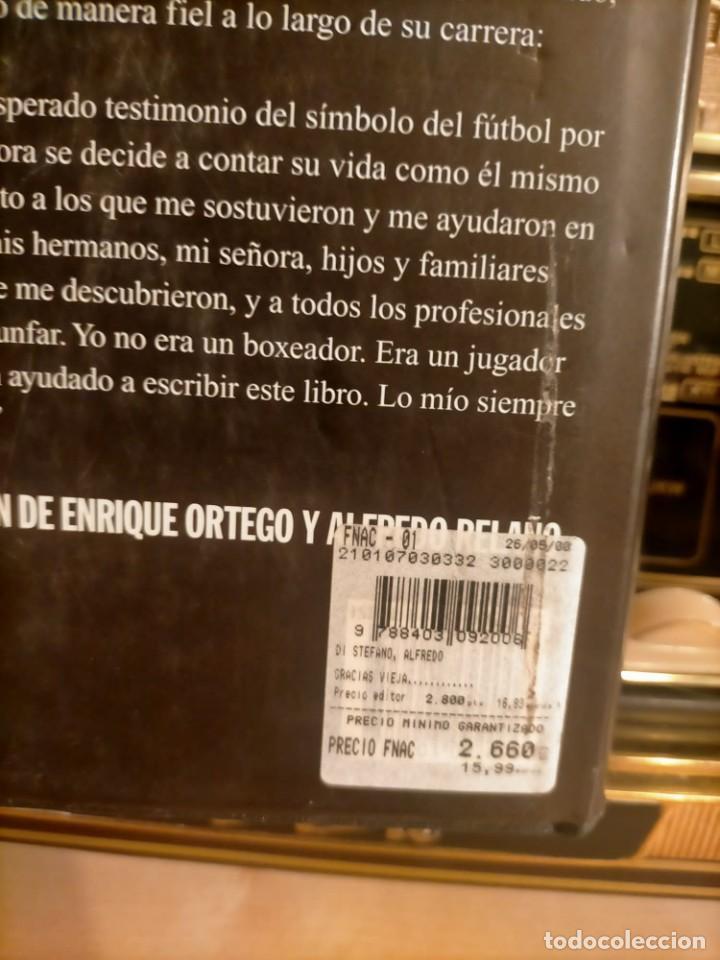 Coleccionismo deportivo: ALFREDO DI STÉFANO BOOK HAND SIGNED AUTOGRAPH REAL MADRID ORIGINAL AUTOGRAFO FIRMADO A MANO - Foto 12 - 244410145