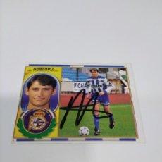 Coleccionismo deportivo: CROMO ARMANDO - DEPORTIVO DE LA CORUÑA.. Lote 244738205