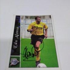 Coleccionismo deportivo: CROMO EDU ALONSO - ALAVÉS.. Lote 244740055