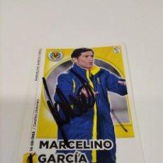 Coleccionismo deportivo: CROMO MARCELINO - VILLARREAL.. Lote 254414060