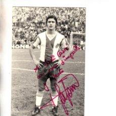 Coleccionismo deportivo: FOTOGRAFIA DANIEL SOLSONA RCD ESPAÑOL DEDICADA Y FIRMADA. Lote 255471830