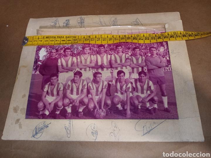 Coleccionismo deportivo: ANTIGUA FOTOGRAFÍA CÓRDOBA C.F. FIRMADA - Foto 6 - 257442470