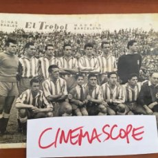 Coleccionismo deportivo: REAL CLUB DEPORTIVO ESPAÑOL ALINEACION FOTO ORIGINAL ANTIGUA CON AUTOGRAFOS ORIGINALES. Lote 260281385