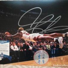 Coleccionismo deportivo: AUTÓGRAFO DENNIS RODMAN SIGNED PHOTO. Lote 262098320