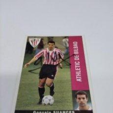 Coleccionismo deportivo: CROMO AUTOGRAFIADO SUANCES - ATHLETIC CLUB.. Lote 263190890