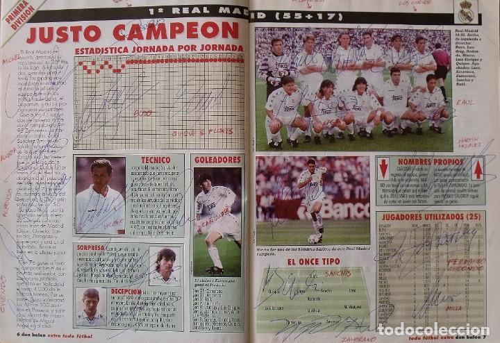 Coleccionismo deportivo: Revista Todo Fútbol. Don Balón. 94-95. Con 290 autógrafos, firmas jugadores 1ª, 2ª división y Europa - Foto 2 - 268424544