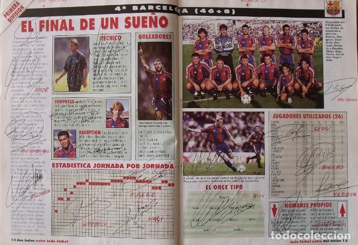 Coleccionismo deportivo: Revista Todo Fútbol. Don Balón. 94-95. Con 290 autógrafos, firmas jugadores 1ª, 2ª división y Europa - Foto 5 - 268424544