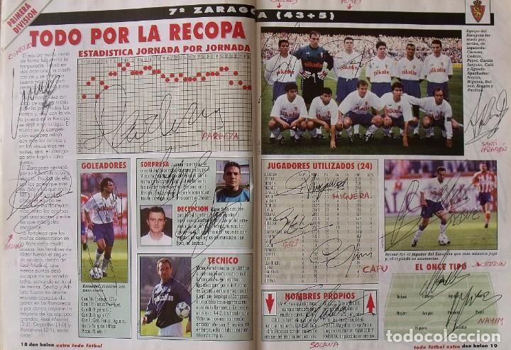 Coleccionismo deportivo: Revista Todo Fútbol. Don Balón. 94-95. Con 290 autógrafos, firmas jugadores 1ª, 2ª división y Europa - Foto 8 - 268424544