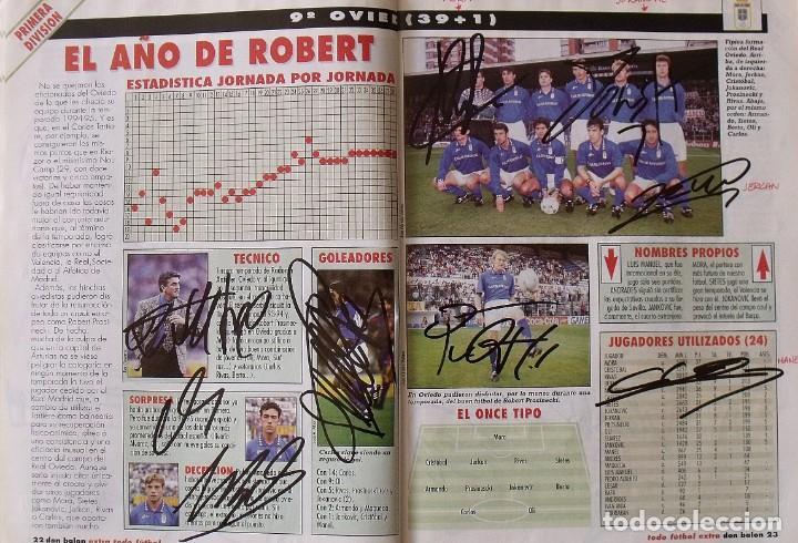 Coleccionismo deportivo: Revista Todo Fútbol. Don Balón. 94-95. Con 290 autógrafos, firmas jugadores 1ª, 2ª división y Europa - Foto 10 - 268424544