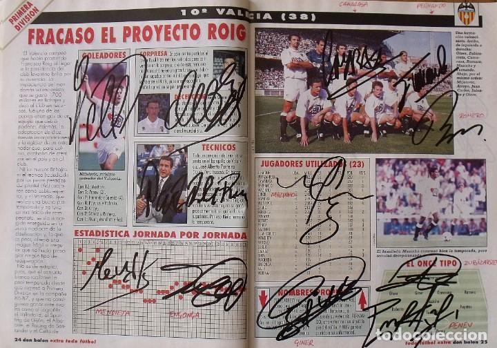 Coleccionismo deportivo: Revista Todo Fútbol. Don Balón. 94-95. Con 290 autógrafos, firmas jugadores 1ª, 2ª división y Europa - Foto 11 - 268424544
