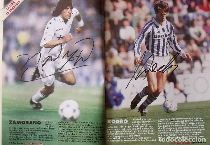 Coleccionismo deportivo: Revista Todo Fútbol. Don Balón. 94-95. Con 290 autógrafos, firmas jugadores 1ª, 2ª división y Europa - Foto 20 - 268424544