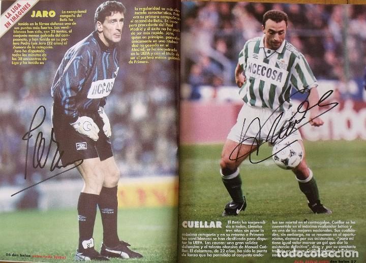 Coleccionismo deportivo: Revista Todo Fútbol. Don Balón. 94-95. Con 290 autógrafos, firmas jugadores 1ª, 2ª división y Europa - Foto 21 - 268424544