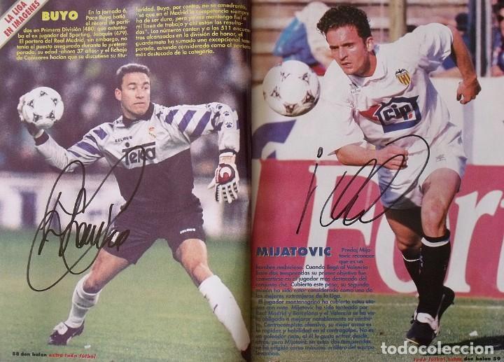 Coleccionismo deportivo: Revista Todo Fútbol. Don Balón. 94-95. Con 290 autógrafos, firmas jugadores 1ª, 2ª división y Europa - Foto 22 - 268424544