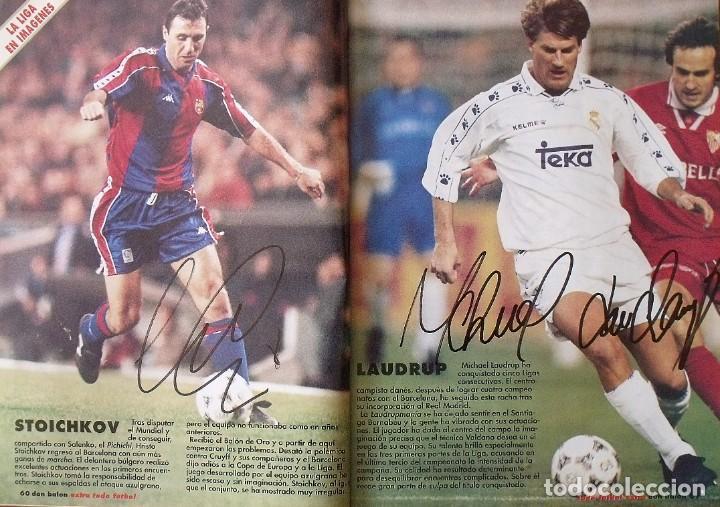 Coleccionismo deportivo: Revista Todo Fútbol. Don Balón. 94-95. Con 290 autógrafos, firmas jugadores 1ª, 2ª división y Europa - Foto 23 - 268424544
