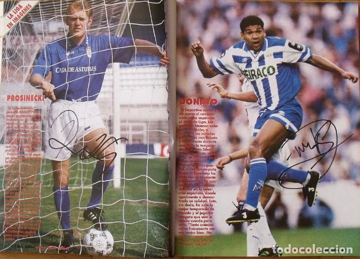 Coleccionismo deportivo: Revista Todo Fútbol. Don Balón. 94-95. Con 290 autógrafos, firmas jugadores 1ª, 2ª división y Europa - Foto 24 - 268424544