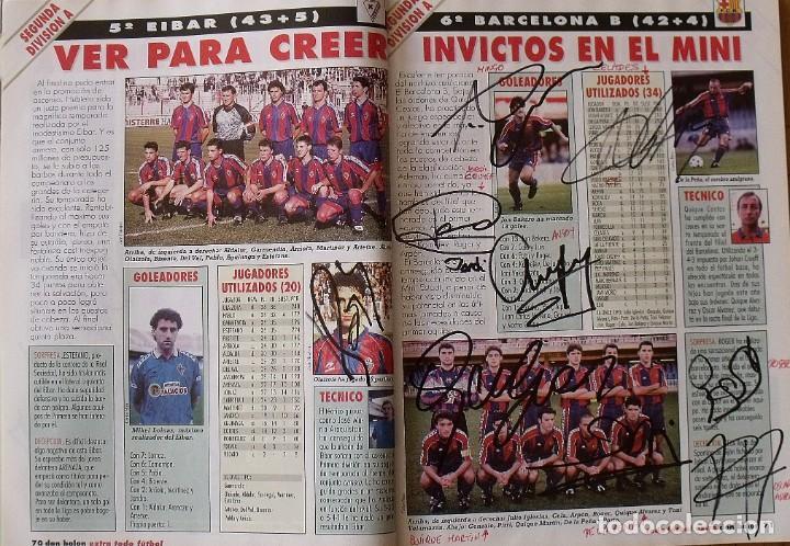 Coleccionismo deportivo: Revista Todo Fútbol. Don Balón. 94-95. Con 290 autógrafos, firmas jugadores 1ª, 2ª división y Europa - Foto 27 - 268424544