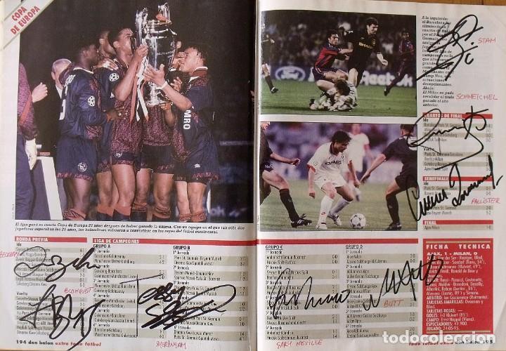 Coleccionismo deportivo: Revista Todo Fútbol. Don Balón. 94-95. Con 290 autógrafos, firmas jugadores 1ª, 2ª división y Europa - Foto 29 - 268424544