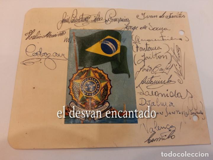 Coleccionismo deportivo: AMERICA FC (Rio de Janeiro). Autógrafos originales (1960-61) - Foto 2 - 270627188