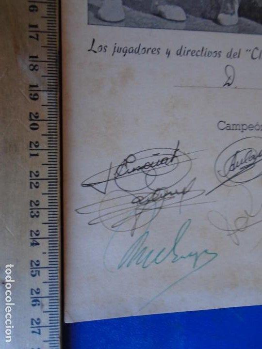 Coleccionismo deportivo: (F-210700)HOMENAJE C.B.JOVENTUD BADALONA CAMPEON COPA S.E.GENERALISIMO 1958-DEDICADA A JUSTO CONDE - Foto 3 - 273185858