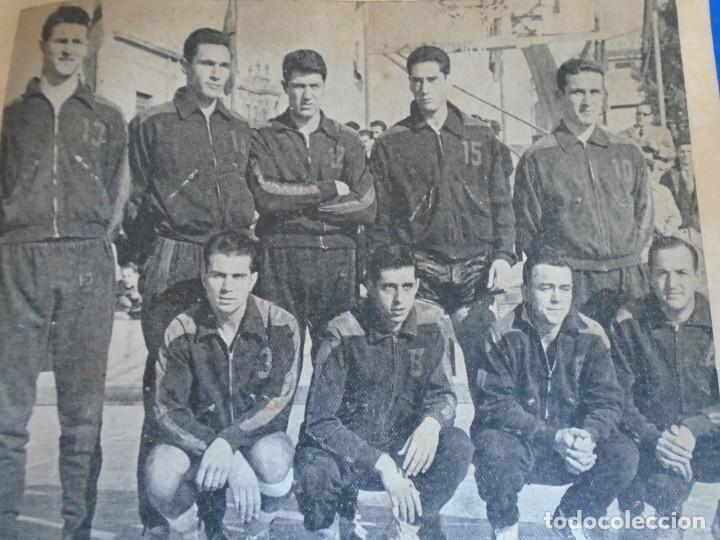 Coleccionismo deportivo: (F-210700)HOMENAJE C.B.JOVENTUD BADALONA CAMPEON COPA S.E.GENERALISIMO 1958-DEDICADA A JUSTO CONDE - Foto 5 - 273185858
